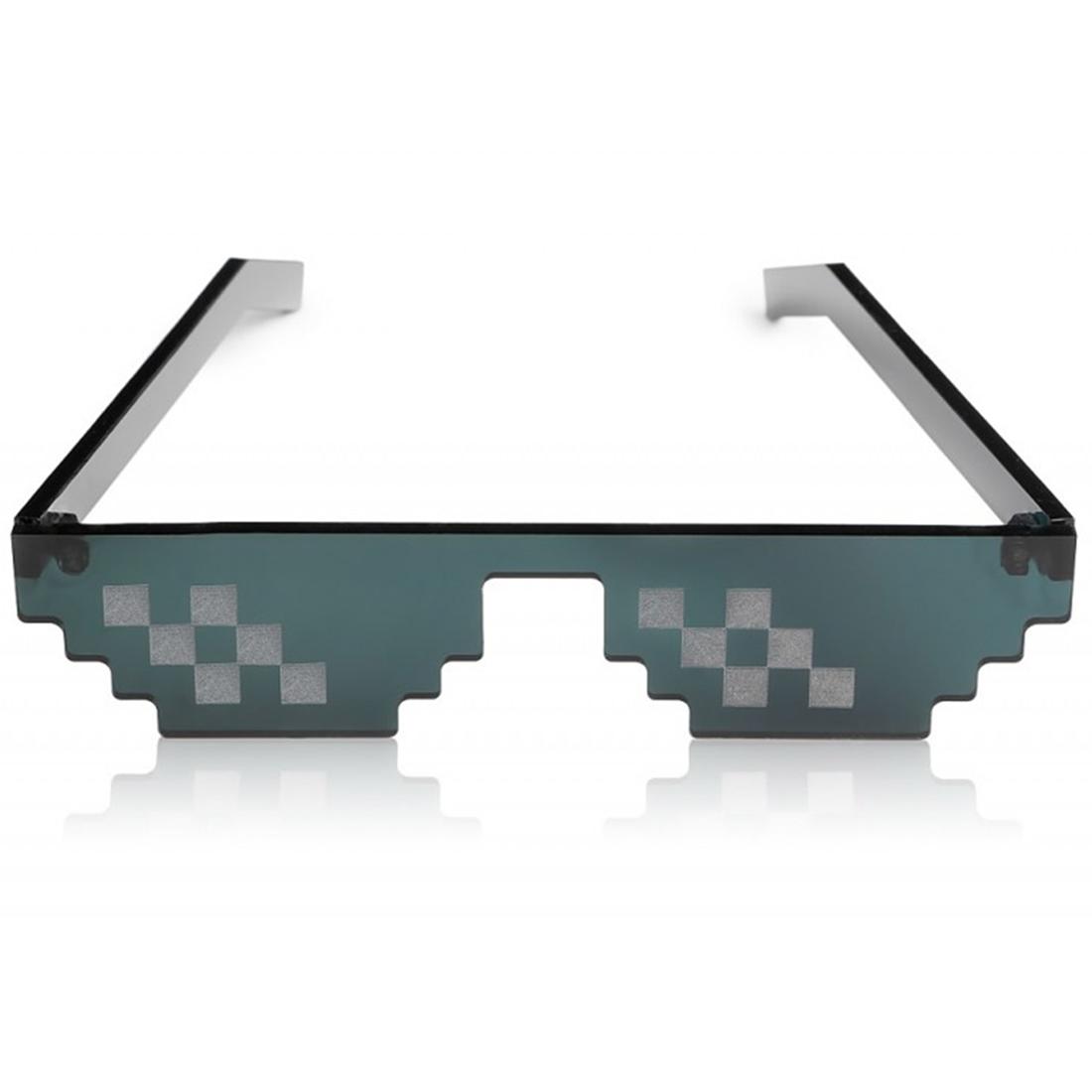 как на фото наложить пиксельные очки снятия